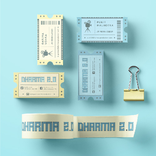 Dharma 2.0 Stationery Design