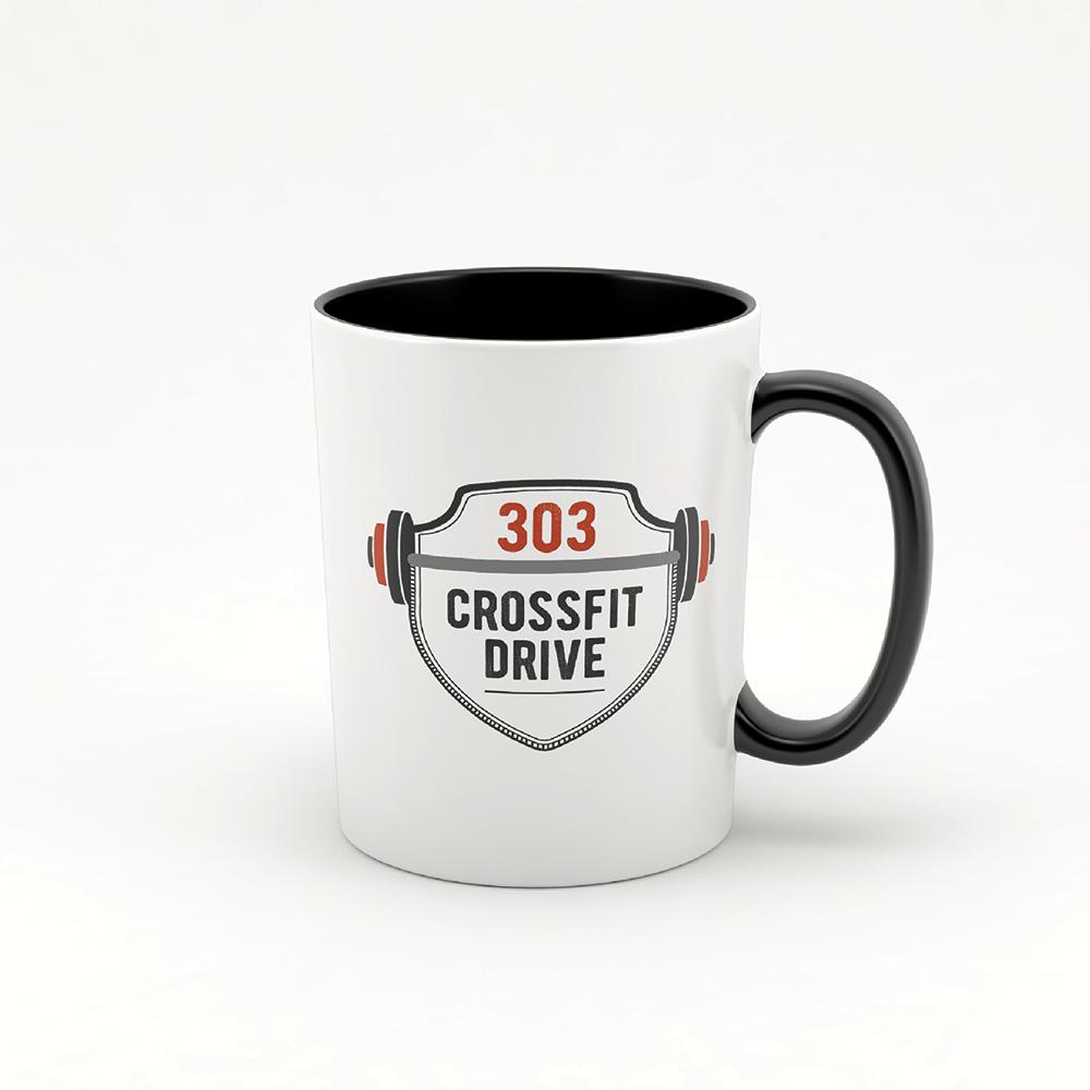 303 Crossfit Drive Brand Design