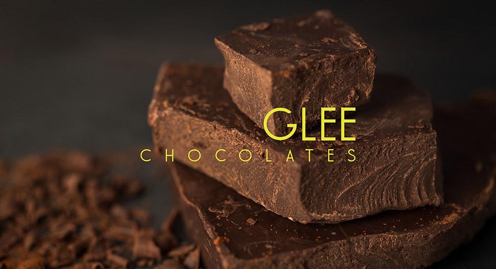 Glee Chocolates Web Design
